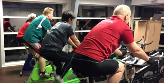 udholdenhedstræning øger fedt omkring maven og rammer ofte mænd over 40